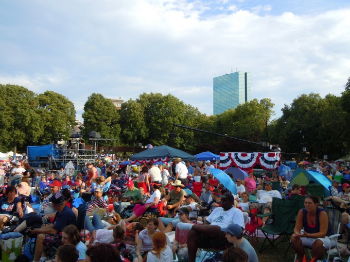 Boston Pops July 4, 2010 / Courtesy of Bex