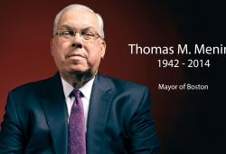 掌舵波士顿20年:Thomas Menino