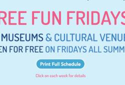 Free Fun Fridays: 周五免费文化之旅